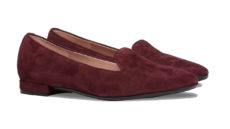 ballerine vinaccia scamosciate slippers